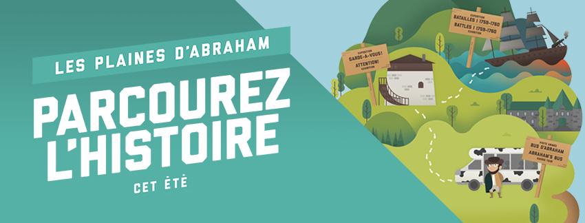 Parcourez les plaines d'Abraham cet été